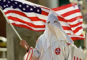 Ку-клукс-клан - В США Ку-клукс-клану разрешили провести акцию против Обамы