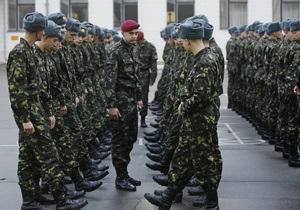 Сегодня в Украине начался последний призыв в армию
