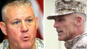 Генералы в США уволились из-за ошибок в Афганистане