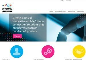 Печатный альянс. Корифеи цифрового рынка намерены продвигать единый мобильный стандарт - мобильная печать