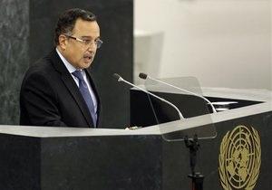 Новости Египта - Генассамблея ООН: На саммите ООН глава МИД Египта рассказал, почему свергли Мурси и назвал Израиль  оккупантом