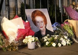 Сегодня состоялось погребение праха Маргарет Тэтчер