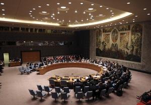 Российские дипломаты воздержались при голосовании в СБ ООН по резолюции об оружии