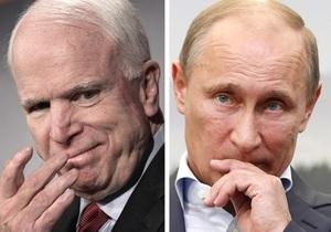 Социологи: Статья Путина понравилась американцам больше, чем статья Маккейна