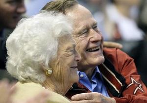 Буш-старший выступил свидетелем на однополой свадьбе