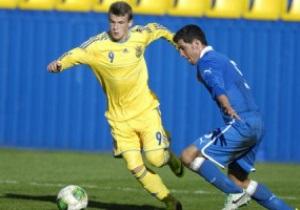 Юношеская сборная Украины в меньшинстве победила Италию