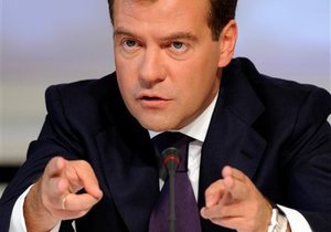 Ответ Азарову: Медведев сомневается, что Брюссель разрешит Киеву подписывать соглашения ТС