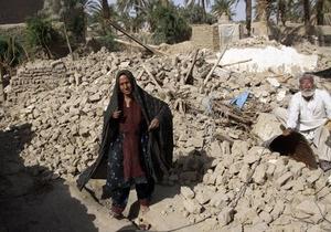 Землетрясение в Пакистане: число жертв превысило 320 человек