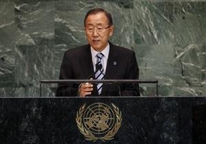 Война в Сирии - Генсек ООН потребовал прекратить поставки оружия в Сирию