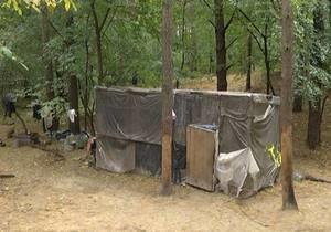 Лесные жители: под Киевом отец и четверо детей восемь лет прожили в лесу