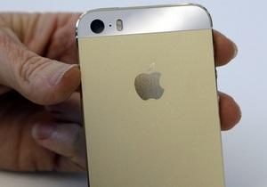 Новости Apple - Продажи iPhone - iPhone 5S - iPhone 5C -  Золотой  флагман Apple продан на eBay за $10 тыс.