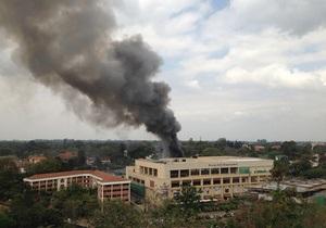 В торговом центре в Найроби прогремел мощный взрыв