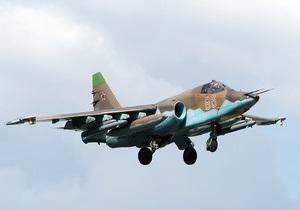 Новости России - В России во время тренировочного полета рухнул штурмовик Су-25