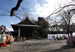 В Японии кореец пытался поджечь знаменитый милитаристский храм