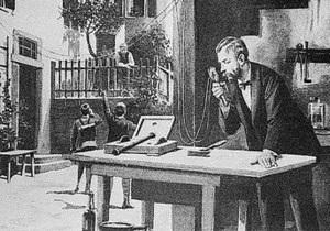 Первый электрический телефон