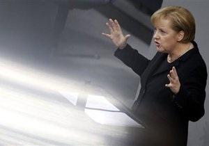 Меркель: Политика Германии остается дружественной к евроинтеграции