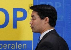 Выборы в Германии - После разгромного поражения на выборах в Германии лидер Свободной демократической партии подает в отставку