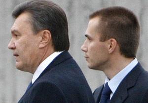 Сын Януковича одолжил своей компании 150 млн грн без процентов - мако холдинг - александр янукович