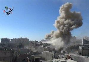 Война в Сирии - Башар Асад - Россия: В посольство России в Дамаске попала мина