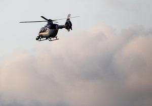 Новости США: В США потерпел крушение вертолет. Все находившиеся на борту погибли