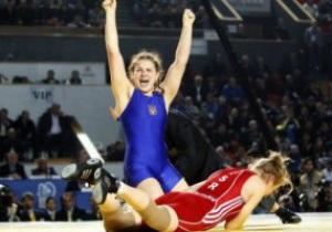 Вольная борьба. Украинка Махиня-Стадник - чемпионка мира