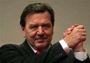 саміт YES - форум в Ялті - Шредер заявив про дефіцит політичної єдності в Євросоюзі