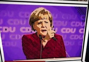 Меркель - Выборы в Германии в комиксах - видео