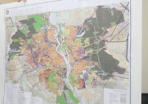 Київ - генплан - будівництво