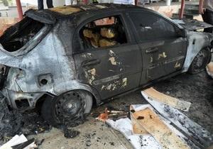 Новости Севастополя - Крым - поджог - журналист - авто - В Севастополе сожгли авто журналиста