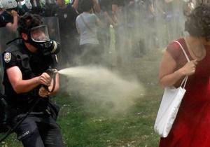 Турция - В столице Турции вспыхнули беспорядки