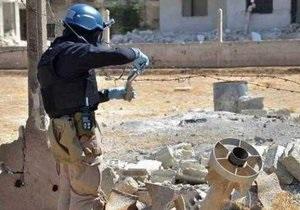 Война в Сирии - Эксперты: поиск химического оружия в Сирии - работа для детектива