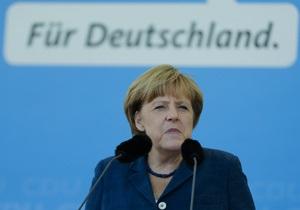 Меркель заявляет об отсутствии доказательств использования Сирией химикатов из Германии для производства оружия