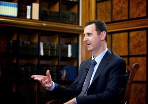 Асад: Сирия готова передать химоружие любой стране, которая согласится его принять