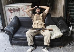 Россия передаст ООН данные, уличающие повстанцев Сирии