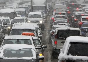 Перед осенними пробками. Эксперты изучили загруженность киевских дорог в 2013 - яндекс пробки - пробки киева - заторы