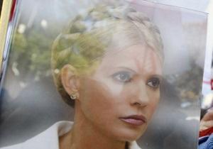 Тимошенко не считает, что оппозиции выгодно ее пребывание в тюрьме - УП