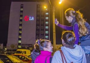 Украинцев удивили лазерными шоу