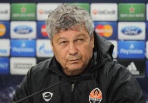 Луческу выставит на матч Лиги чемпионов самых опытных игроков