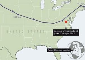 Новости науки: Под Северной Америкой обнаружили древний поток магмы