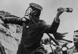 Первыми химическое оружие применили немцы. Историческая справка