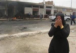 На похоронах в Ираке прогремел взрыв, десятки погибших и раненых