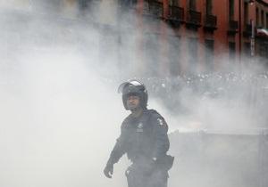 Протесты в Мексике. Около 40 человек ранены