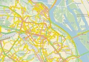 новости Киева - пробки - Сдача Киева. Столицу парализовали пробки