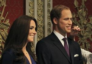 В Музее мадам Тюссо появились восковые принц Уильям и Кейт Миддлтон