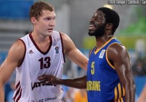 Евробаскет-2013: Украина разгромлена Латвией в первой игре второго раунда