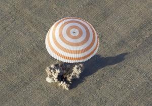 Новости науки - новости космос: Союз с космонавтами приземлился в Казахстане