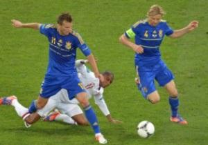 Букмекеры прогнозируют ничью в матче Украина - Англия