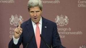 Керрі про Сирію:  Не діяти - небезпечніше, ніж діяти