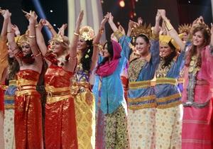 В Индонезии на фоне протестов стартовал конкурс Мисс мира