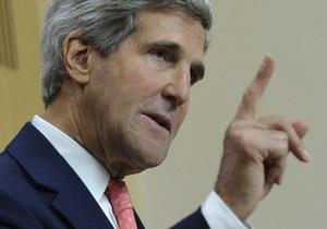 Госсекретарь США назвал условие отмены удара по Сирии